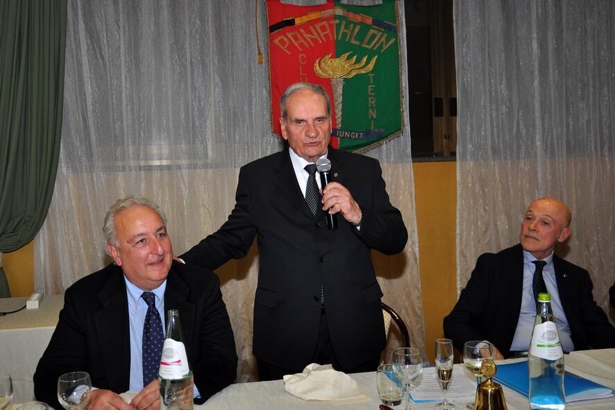 Montesi presenta l'ospite d'onore Franchi