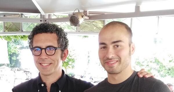 Alessio Foconi e il suo allenatore Filippo Romagnoli