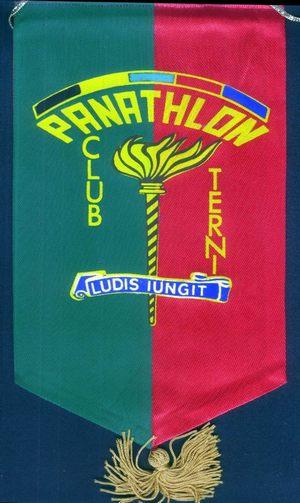 Il primo guidoncino del Panathlon International Club di Terni