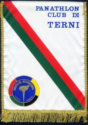 Il secondo guidoncino del Panathlon International Club di Terni