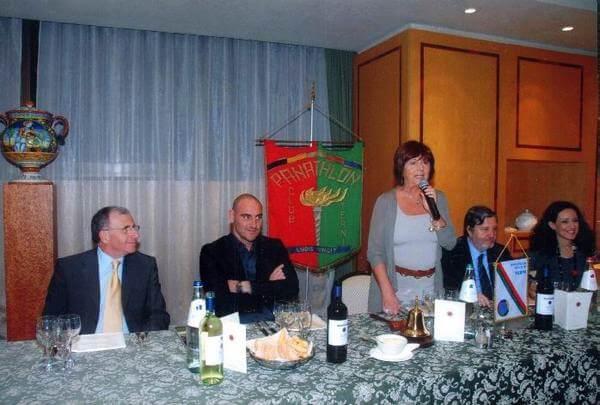 Con Riccardo Zampagna