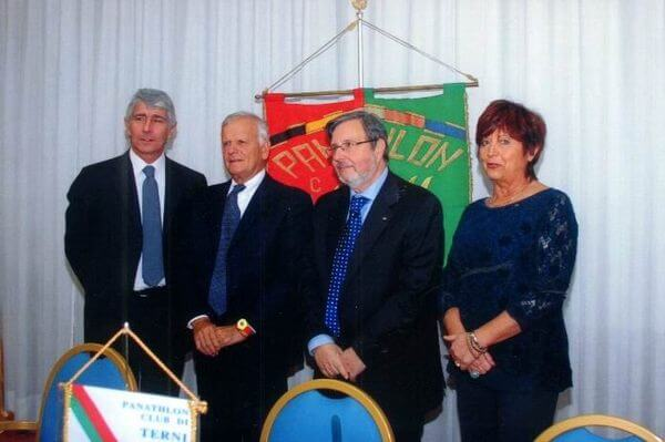 Con Andrea Abodi e Francesco Zadotti