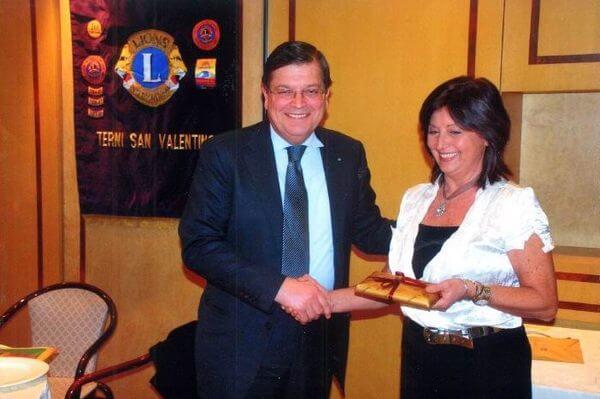 Con il Presidente Internazionale Enrico Prandi
