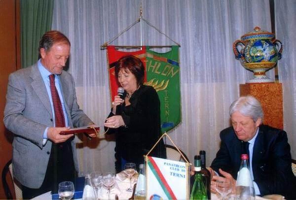 Con Renzo Ulivieri - Presidente nazionale allenatori di calcio