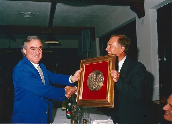 Ciommei premia Giovannetti