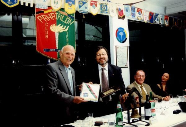 Con Massimo Carignani
