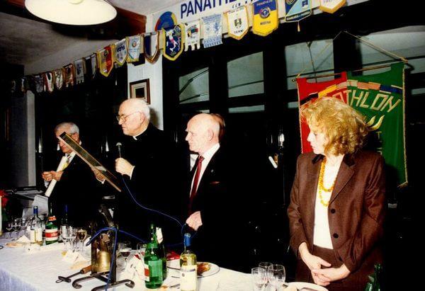 Con il Vescovo Gualdrini