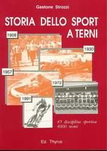 """Copertina del libro """"Storia dell Sport a Terni"""""""