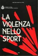 """Copertina del libro """"La violenza nello sport"""""""